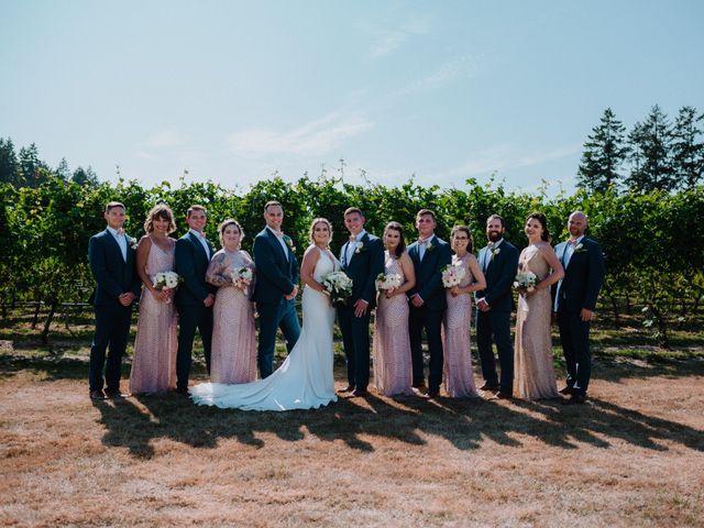 Blake and Justine's wedding in Malahat, British Columbia 12
