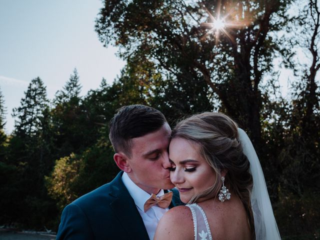 Blake and Justine's wedding in Malahat, British Columbia 2