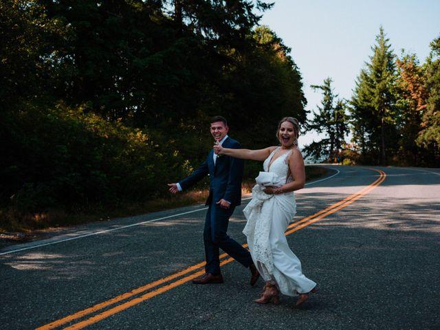 Blake and Justine's wedding in Malahat, British Columbia 15