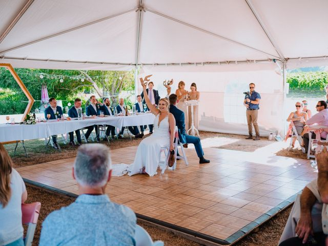 Blake and Justine's wedding in Malahat, British Columbia 16