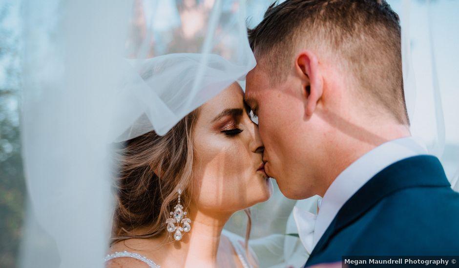 Blake and Justine's wedding in Malahat, British Columbia