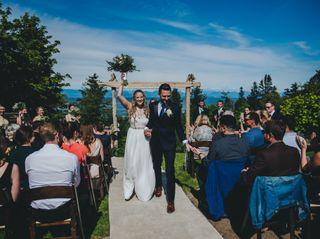 The wedding of Alex and Myles