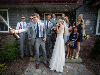 The wedding of Renae and Brandon