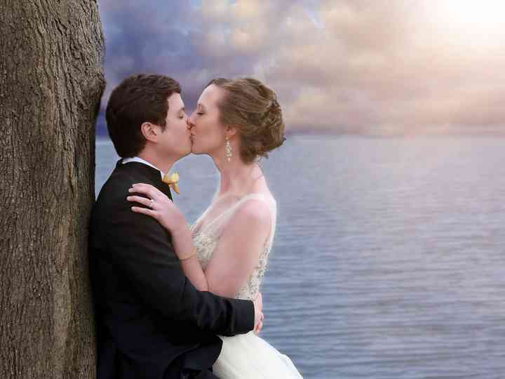 The wedding of Mary and Christophe