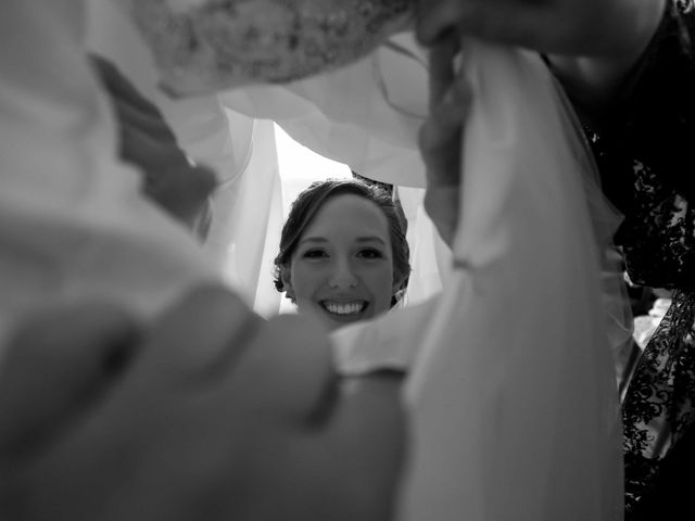 Christophe and Mary's wedding in Dorval, Quebec 5