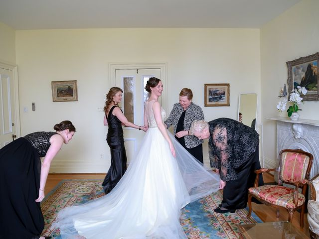 Christophe and Mary's wedding in Dorval, Quebec 8