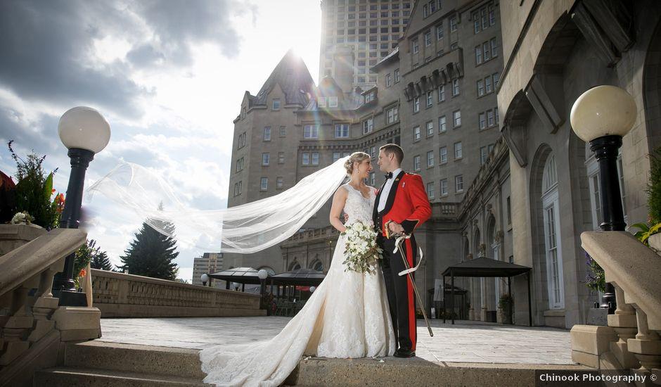 Heather and Alex's wedding in Edmonton, Alberta