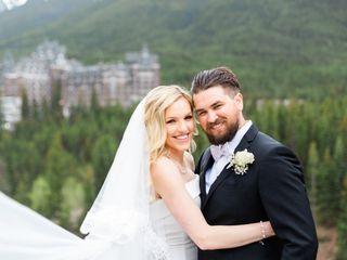 The wedding of Stephanie and Myles