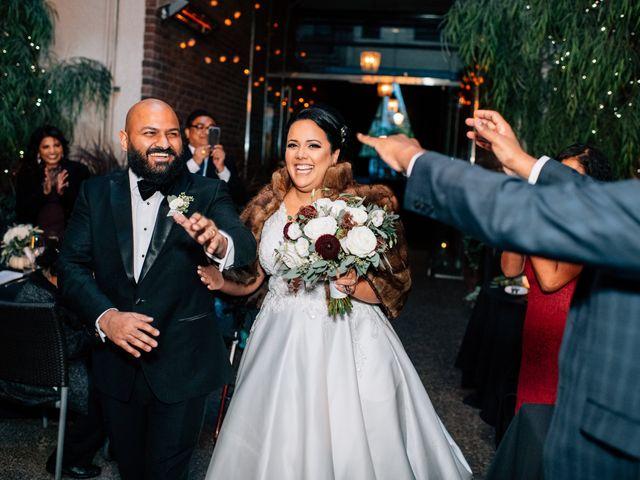 The wedding of Melissa and Nigel