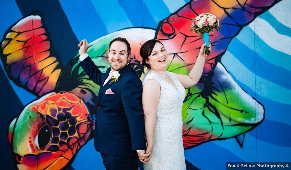 Jared and Jocelyn's wedding in Halifax, Nova Scotia