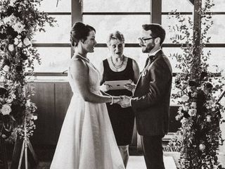 The wedding of Deidre and Harry