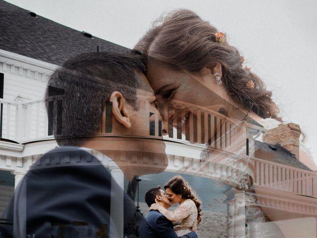 The wedding of Nancy and Reza