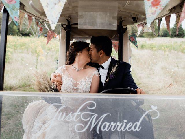 Reza and Nancy's wedding in Bolsover, Ontario 18