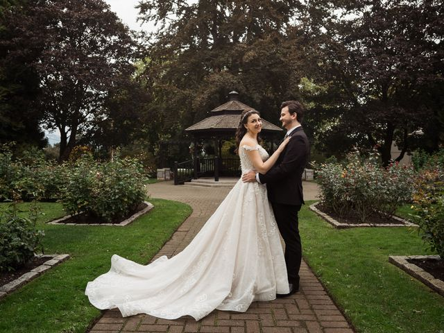 The wedding of Laura and Steven