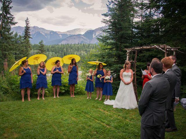 Rich and Zoe's wedding in Golden, British Columbia 29