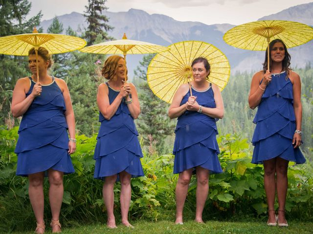 Rich and Zoe's wedding in Golden, British Columbia 34