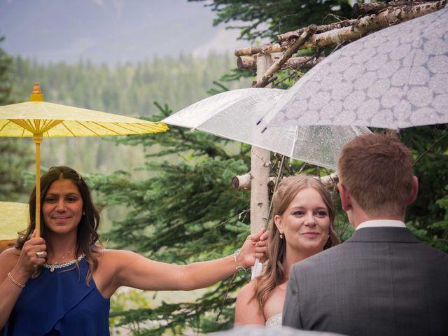 Rich and Zoe's wedding in Golden, British Columbia 37