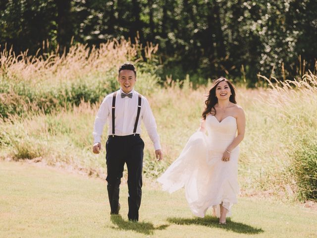 Terence and Tiffany's wedding in Langley, British Columbia 14