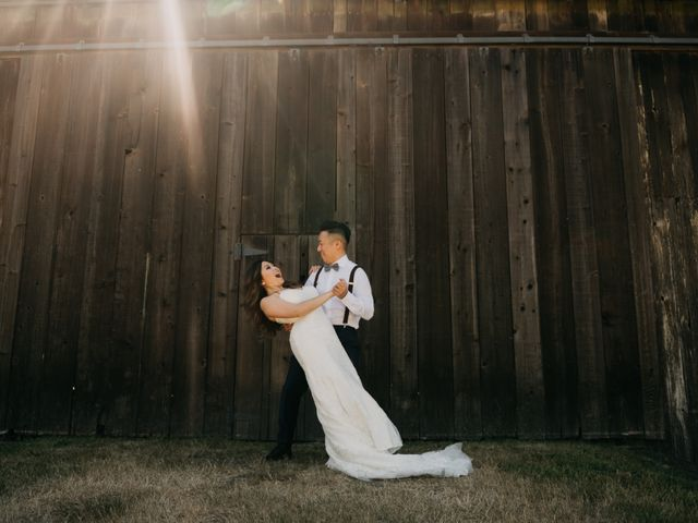 Terence and Tiffany's wedding in Langley, British Columbia 15