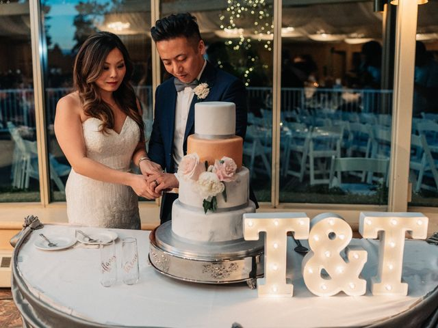 The wedding of Tiffany and Terence