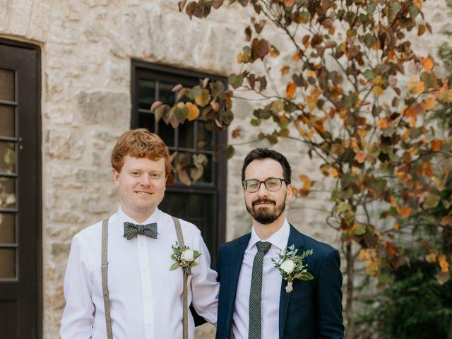 Matthew and Rebecca's wedding in Elora, Ontario 21