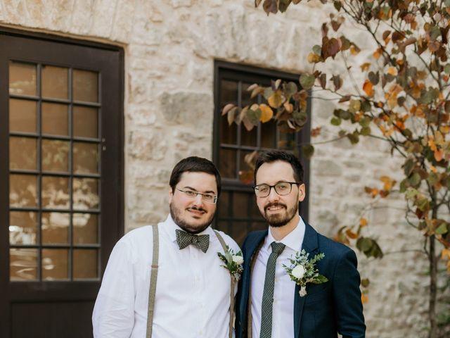 Matthew and Rebecca's wedding in Elora, Ontario 22