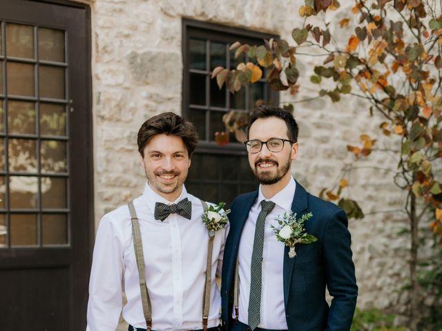 Matthew and Rebecca's wedding in Elora, Ontario 23