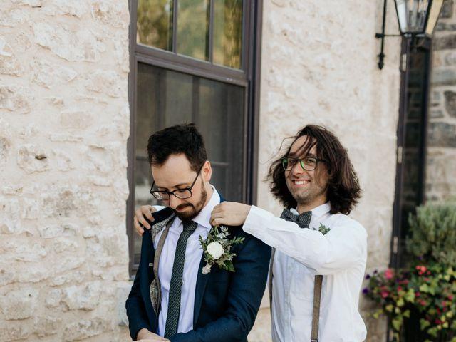 Matthew and Rebecca's wedding in Elora, Ontario 33