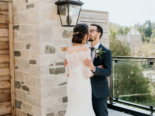 Matthew and Rebecca's wedding in Elora, Ontario 60
