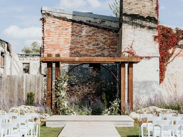 Matthew and Rebecca's wedding in Elora, Ontario 69