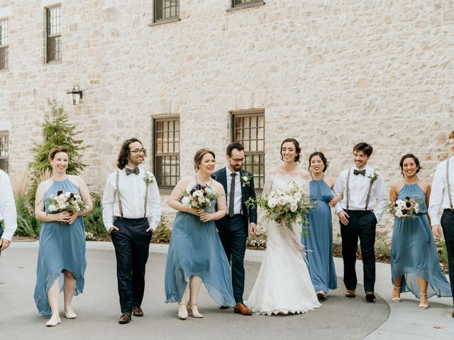 Matthew and Rebecca's wedding in Elora, Ontario 73