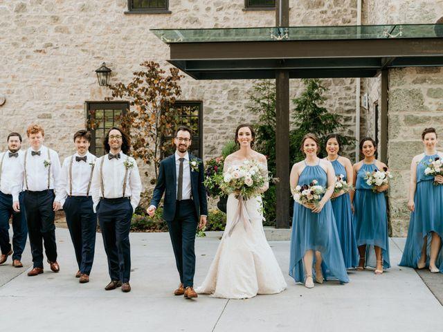 Matthew and Rebecca's wedding in Elora, Ontario 76
