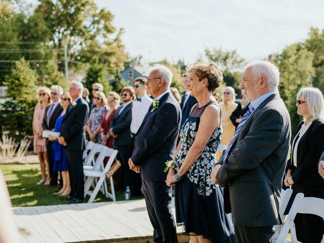 Matthew and Rebecca's wedding in Elora, Ontario 107