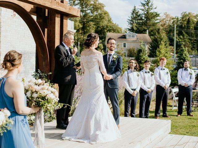 Matthew and Rebecca's wedding in Elora, Ontario 108