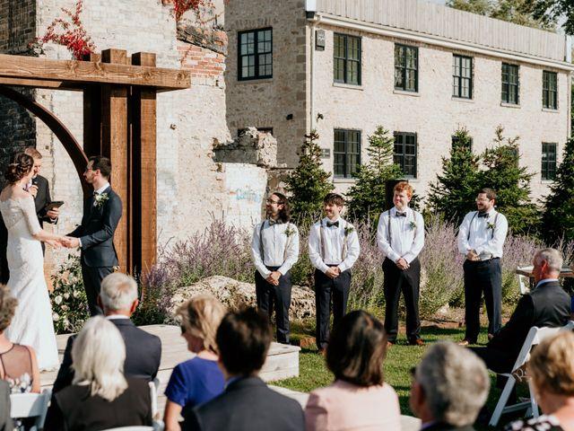 Matthew and Rebecca's wedding in Elora, Ontario 109