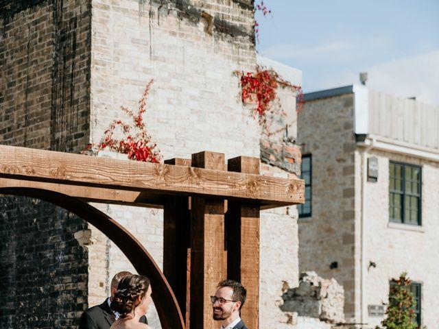 Matthew and Rebecca's wedding in Elora, Ontario 110