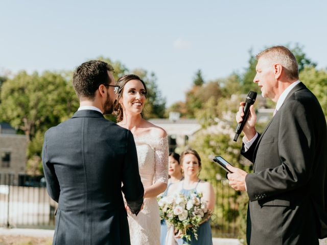 Matthew and Rebecca's wedding in Elora, Ontario 111