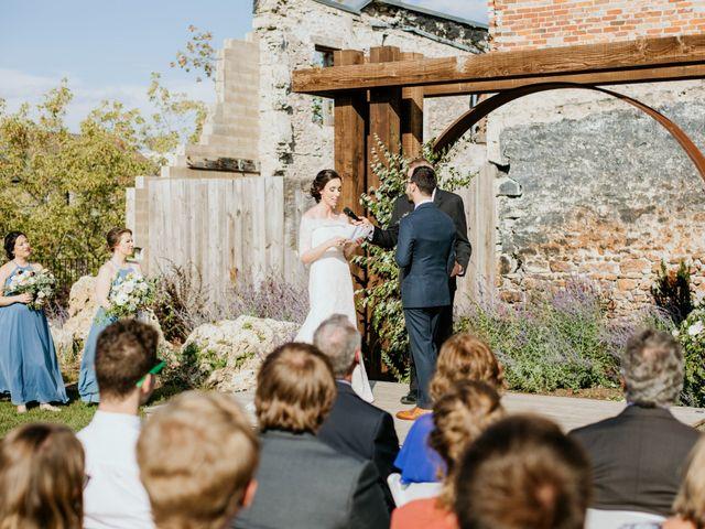 Matthew and Rebecca's wedding in Elora, Ontario 1