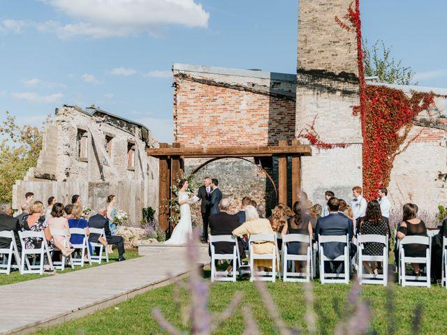 Matthew and Rebecca's wedding in Elora, Ontario 120
