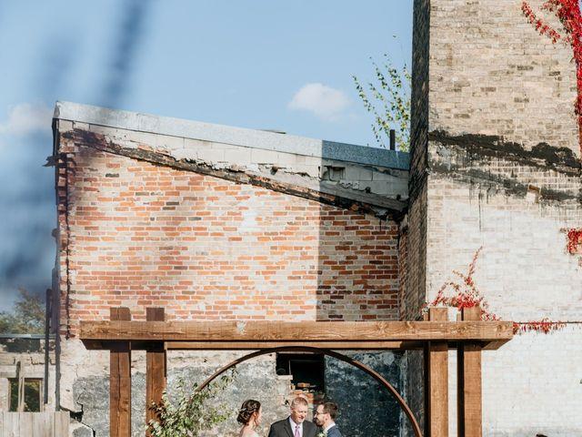 Matthew and Rebecca's wedding in Elora, Ontario 124