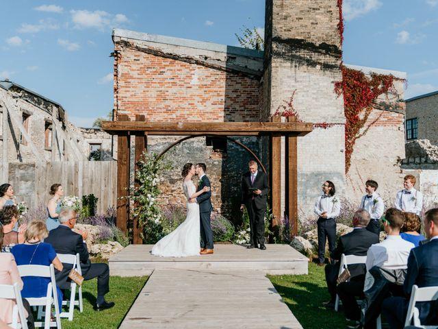 Matthew and Rebecca's wedding in Elora, Ontario 126