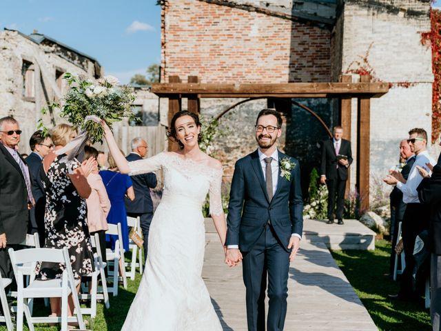Matthew and Rebecca's wedding in Elora, Ontario 2