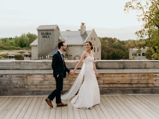 Matthew and Rebecca's wedding in Elora, Ontario 158