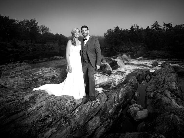 The wedding of Lisa and Greg