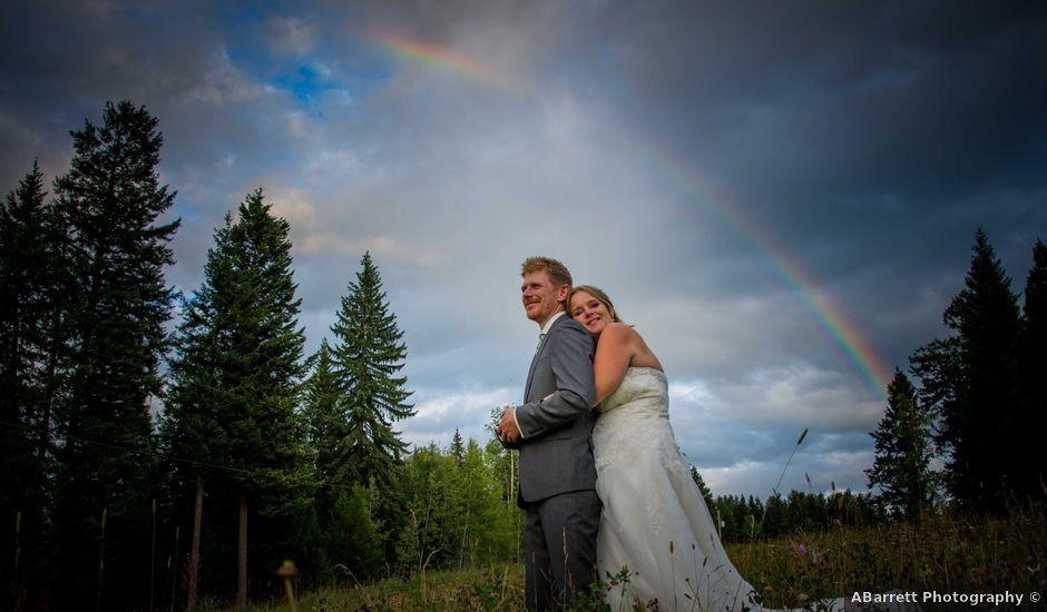 Rich and Zoe's wedding in Golden, British Columbia
