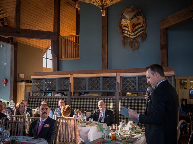 Chris and Adriana's wedding in Golden, British Columbia 7