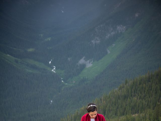 Chris and Adriana's wedding in Golden, British Columbia 12