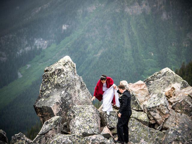 Chris and Adriana's wedding in Golden, British Columbia 14