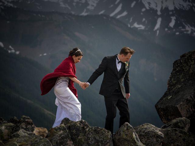 Chris and Adriana's wedding in Golden, British Columbia 1
