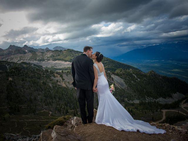 Chris and Adriana's wedding in Golden, British Columbia 27